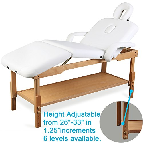 500Lbs-MaxLoad-Pro-Stationary-Massage-Table-Bed-Beauty-Therapy-Salon-Couch