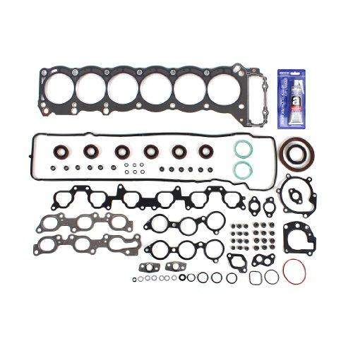 CNS EF0521SI Engine Full Gasket Set with Graphite Cylinder Head Gasket for Toyota Land Cruiser FZJ80, Lexus LX450 4.5L 4477cc L6 Twin Cam 1FZFE 93-97