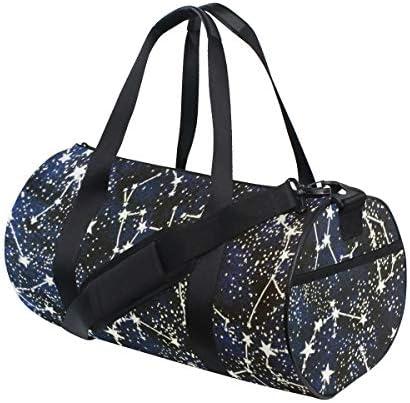 ボストンバッグ 星 星座 ジムバッグ ガーメントバッグ メンズ 大容量 防水 バッグ ビジネス コンパクト スーツバッグ ダッフルバッグ 出張 旅行 キャリーオンバッグ 2WAY 男女兼用