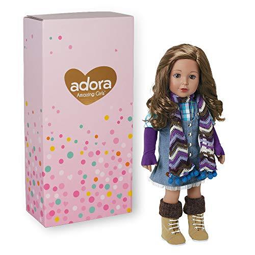 Adora Amazing Girls 18-inch Doll, ''Ava'' (Amazon Exclusive)