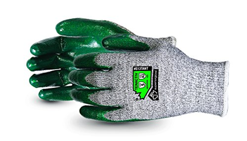 Superior TenActiv Abrasion, Cut & Slip Resistant Gloves with ZedCoat Palms - Composite Knit (Size 9)