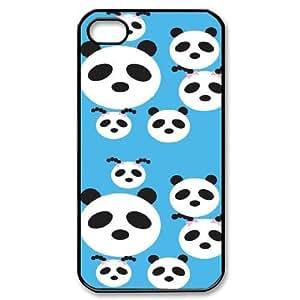 DIY iPhone 4,4S Case, Zyoux Custom High Qualtiy iPhone 4,4S Shell Case - Panda