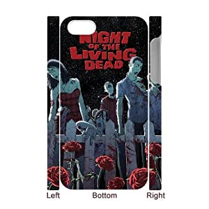 HXYHTY Night of the Living Dead 2 Phone 3D Case For Iphone 4/4s [Pattern-6]
