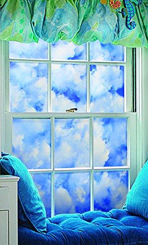 "Artscape Clouds Window Film 24"" X 36"""