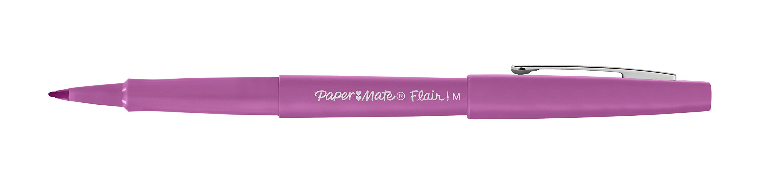 Paper Mate Flair Felt Tip Pens, Medium Point (0.7mm), Assorted Colors, 8 Count by Paper Mate (Image #3)