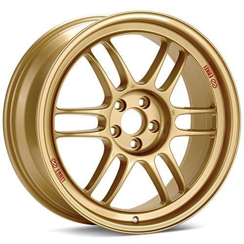 18x8.5 Enkei RPF1 Gold Rim Offset(40) Lug(5x114.3) Bore(73) 1 Wheel -- (Enkei Rpf1 Wheel)