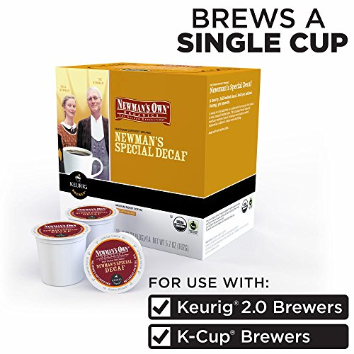 Newman's Own Organics Special Decaf Coffee 180 K-Cup Pods by Newman's Own (Image #1)