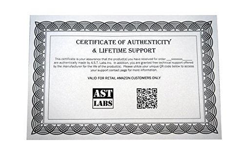 AST Labs Test Lead Silicone Banana Male-Male Straight Right-Angle 5 feet