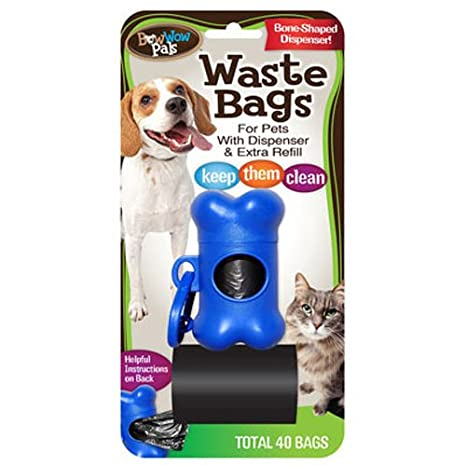 Amazon.com: Bow Wow – Bolsas de basura con dispensador y ...