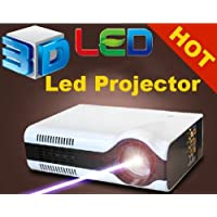 Gowe Home theater cinema 2200Lumens HDMI LED LCD HD Video 3D Projector/projetor/proyector/projecteur
