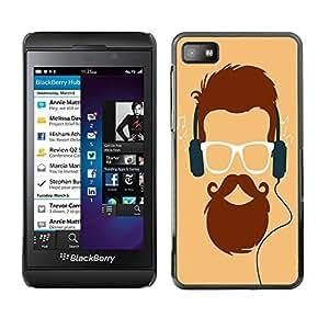Dragon Case - FOR Blackberry Z10 - Knowledge makes humble - Caja protectora de pl??stico duro de la cubierta Dise?¡Ào Slim Fit