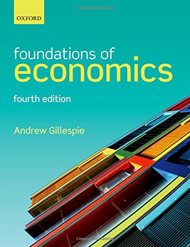 FOUNDATIONS OF ECONOMICS 5E