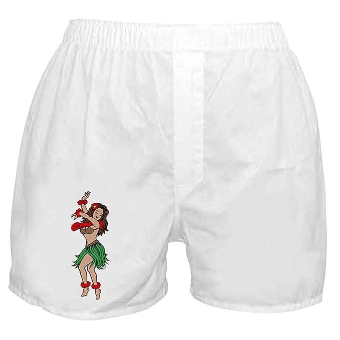 4b95eadf83741 Amazon.com: CafePress - Hawaiian Hula Dancer Tattoo - Novelty Boxer ...