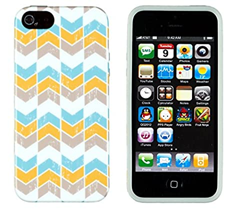 iPhone 4S Case, DandyCase PERFECT PATTERNNo Chip/No Peel Flexible Slim Case Cover for Apple iPhone 4S / 4 [Scratched (Iphone 4 Case Preppy)