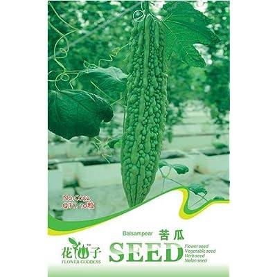 Business sasha Each Pack 10+ Seeds Heirloom Organic Vegetable Balsam Pear Bitter Melon Seeds (3) : Garden & Outdoor