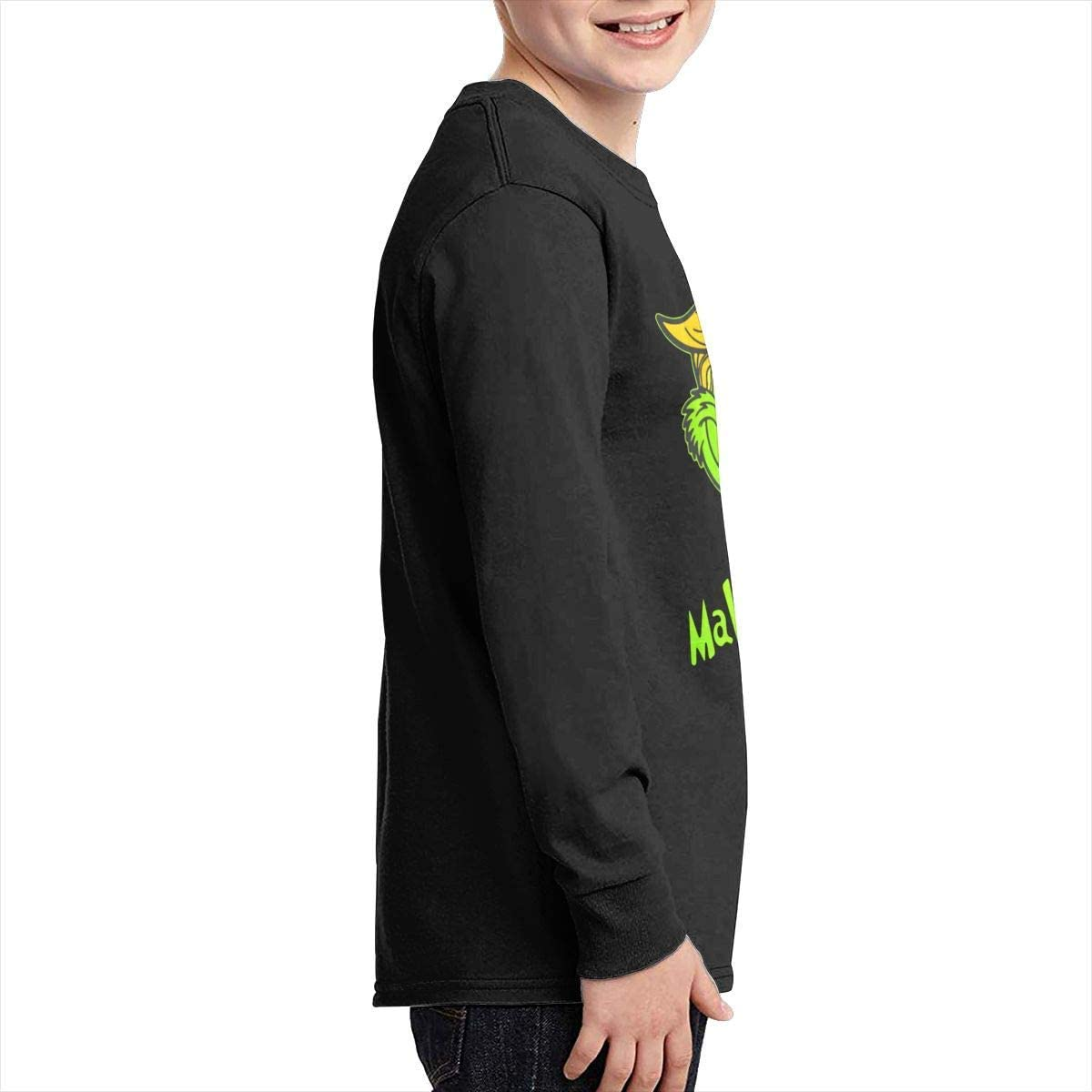 Kilsd Boys /& Girls Junior Particular Trump Grinch Make Christmas Great Again Long Sleeve T-Shirt Black
