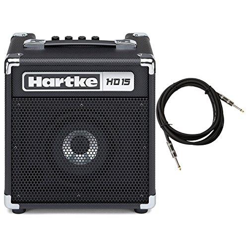 15 Bass Combo Amp - Hartke HD15 15w Bass Combo Amp w/ 18-Foot Cable