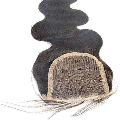 """Vedar Beauty 2014 New Product Indian Body Wave Hair For Sale Lace Top Closure(4""""*4""""),16Inche Natural Color"""