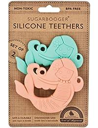 Silicone Teether Set Two, Isla the Mermaid