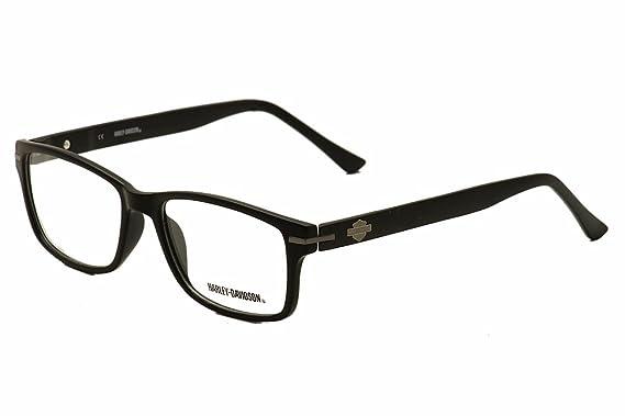 harley davidson hd 496 eyeglasses blk matte black