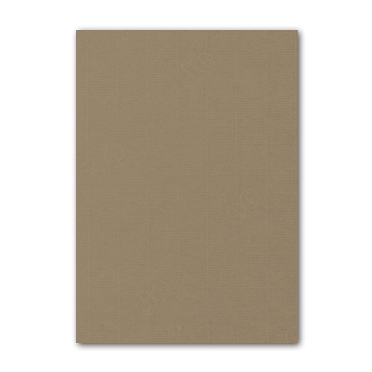 ARTOZ 150x Briefpapier + Bastelpapier Bastelkarton - Taupe - DIN A4 297 x 210 mm – Edle Egoutteur-Rippung – Hochwertiges 220 g m² Tonpapier – Scrapbooking Papier 586 - Taupe 100 Stück