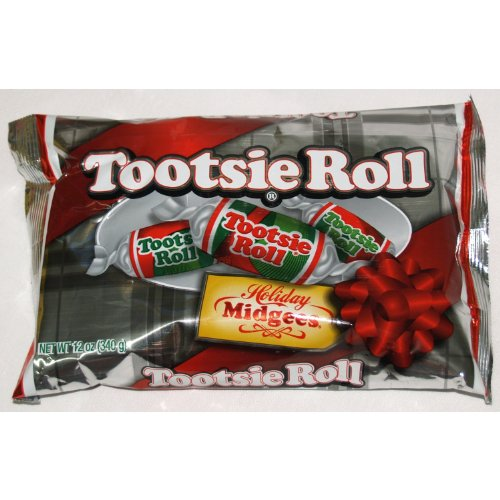 Tootsie Roll Holiday Midgees, 12oz (Christmas Holiday Candy)