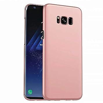 Funda Samsung Galaxy S8 Caja Caso MUTOUREN PC Carcasa Anti-Scratch Anti-rasguños Bumper Protectora de teléfono Case Cover para Samsung Galaxy S8 (Oro ...