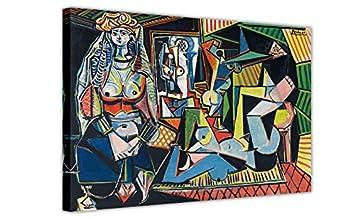 Canvas It Up Les Femmes D \'Alger (Version O) par Pablo Picasso ...