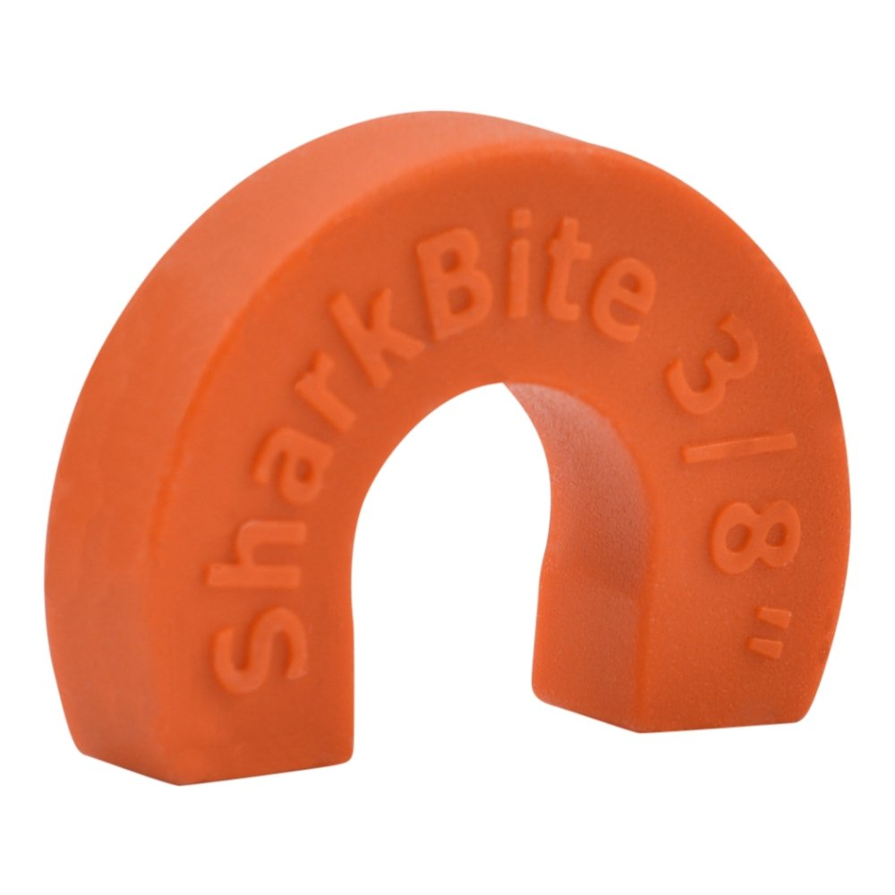 SharkBite 3/8 Inch Disconnect Clip, Push To Connect Fittings, SharkBite Fitting Removal Tool, U708A