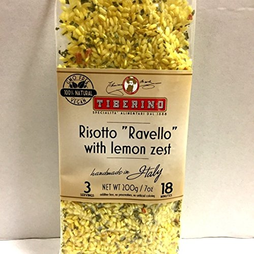 Tiberino's Real Italian Meals - Risotto with Lemon Zest ''Ravello'' by Tiberino