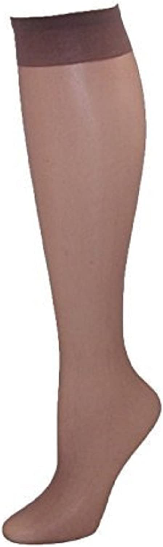 10 PAIRS Of Ladies POP SOCKS KNEE HIGH Tights 15 Denier Comfort Top Shoe Size3-8