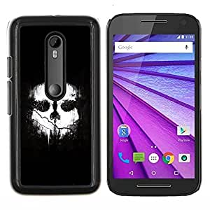 "For Motorola MOTO G3 ( 3nd Generation ) , S-type Dos caras"" - Arte & diseño plástico duro Fundas Cover Cubre Hard Case Cover"