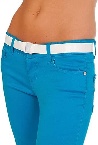 Invisibelt - No Show Women's Belt, Skinny Slimming Belt, Adjustable Flat Belt, No Buckle Belt, Function over Fashion