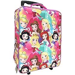 Disney Girls' Princess 3 Pc Luggage Set, Pink