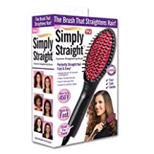 As Seen On TV Simply Straight Brush . Ceramic Brush That Straightens In Minutes.