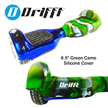 "Drifft 6.5"" Hoverboard Silicone Skin Jelly Case Protective Cover for Classic Self Balancing Scooter"
