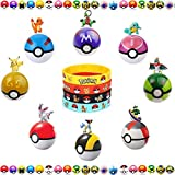 9 Different Pieces Style Ball + 9 Pokemon Figures + 12 Pokemon Bracelet. Best Birthday Present or Gift!