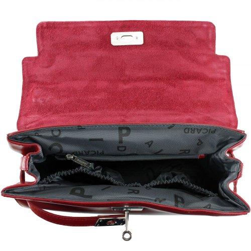 Berlin Women's Picard Rot Handbag 29x21x11 wxwZ75dq