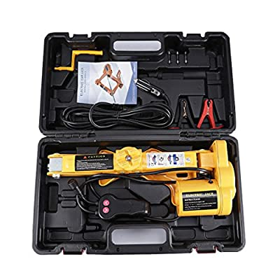 ALAVENTE Car Floor Jack 2 Ton with Case Repair Tool Kit for Tire Change