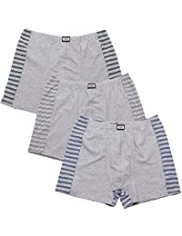 3-pack boxer shorts for men also Oversized no. 435 ( Gray / L)
