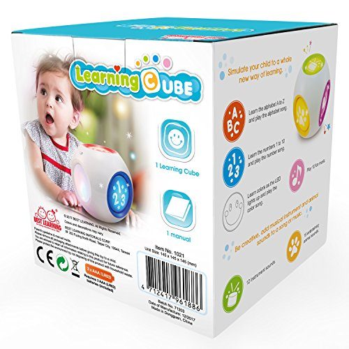BEST LEARNING Learning Cube - Educational Activity Center Block Toy for Infants Babies Toddlers for 6 Month and up - Ideal Baby Toy Gifts