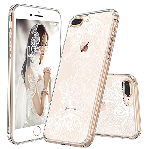iphone 8 plus case clear pattern