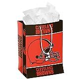 FOCO NFL Cleveland Browns 2014 Gift Bag, Medium, Orange