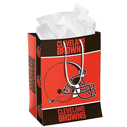 NFL Cleveland Browns 2014 Gift Bag, Medium, Orange