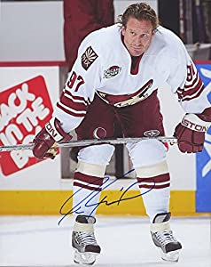 "Jeremy Roenick #97 Signed Arizona Coyotes 8"" x 10"" Photo (Beckett COA) San Jose Sharks, Philadephia Flyers"