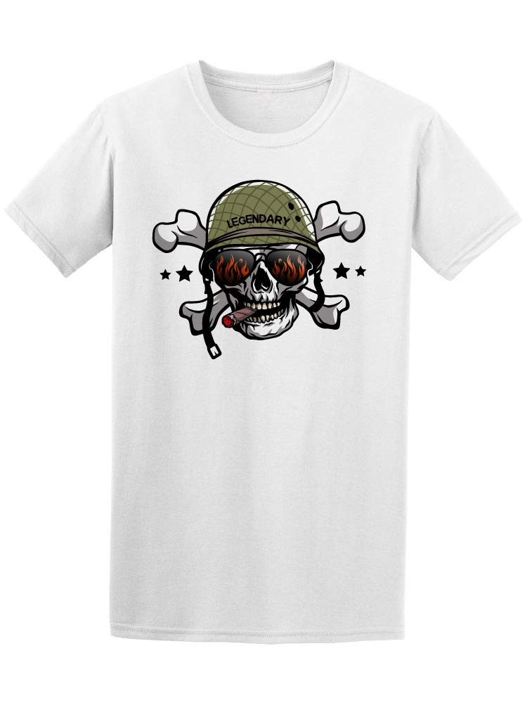 Army Skull With Sunglasses Tee Men's -Image by Shutterstock