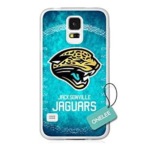 Onelee(TM) - NFL Team Logo Samsung Galaxy S5 case - Custom Personalized Jacksonville Jaguars Hard Plastic Samsung S5 Cover - T1