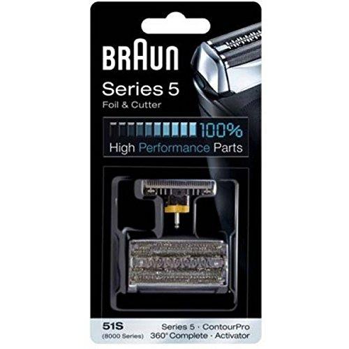 Braun 51S/Series 5 - 8000 Series/Activator rasuradora para hombre - Afeitadora