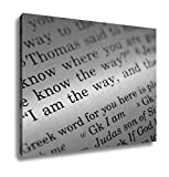 Ashley Canvas, I Am The Way, Home Decoration Office, Ready to Hang, 20x25, AG6605347