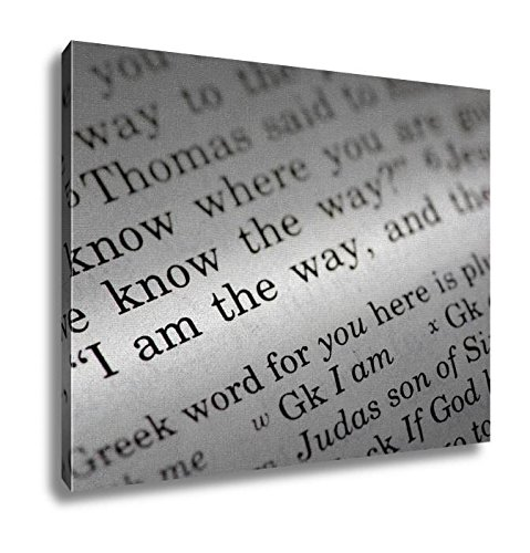 Ashley Canvas, I Am The Way, Home Decoration Office, Ready to Hang, 20x25, AG6605347 by Ashley Canvas